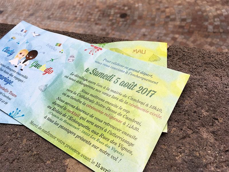 faire-part Mali Bamako