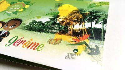 faire-part tropical îles exotiques