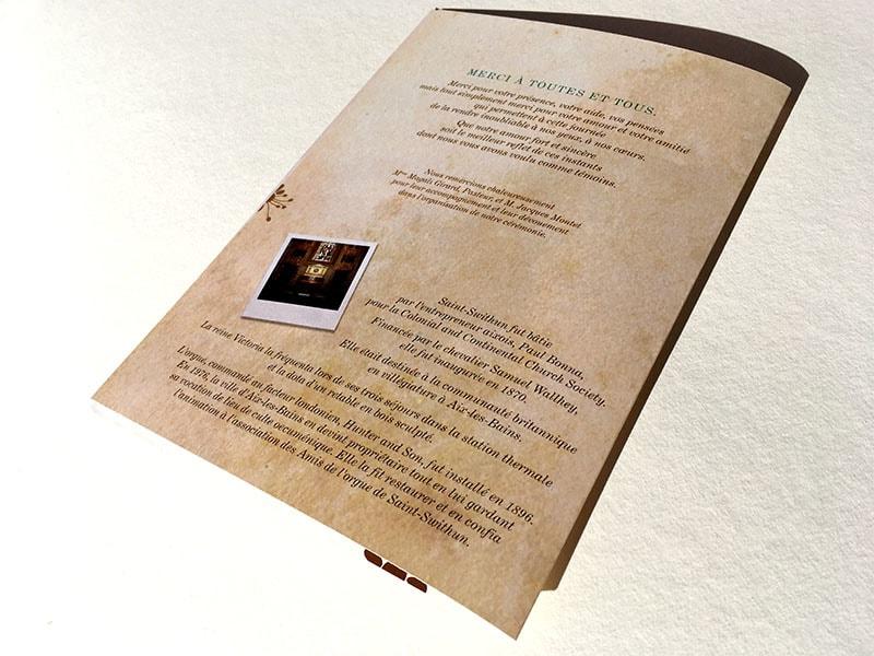 Textes livret de cérémonie laïque