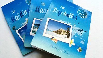 Centre de table îles Seychelles Maldive