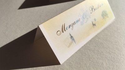 Nominette mariage thème voyage idées
