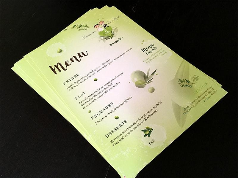 Idée de mariage thème nature oliviers