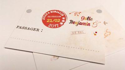 Porte-nom format étiquette voyage