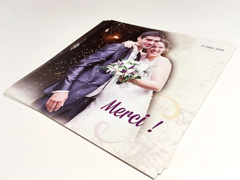 Remerciements de mariage
