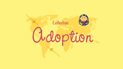 Collection faire-part d'Adoption
